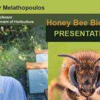 Andony Melathopoulos delivers presentation on bee biology at Columbia Gorge Beekeepers Association