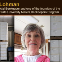 Jan Lohman - Commercial Beekeeper and one of the founders of the Oregon State University Master Beekeeper Program